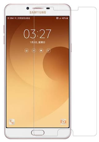 Samsung C9 Pro Edge To Edge Tempered Glass By Tempered Glasses 4D Tempered Glass, Bubble Free Installation