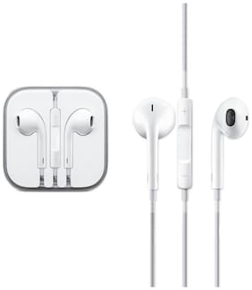 Crystal Digital In-Ear Wired Headphone ( White )
