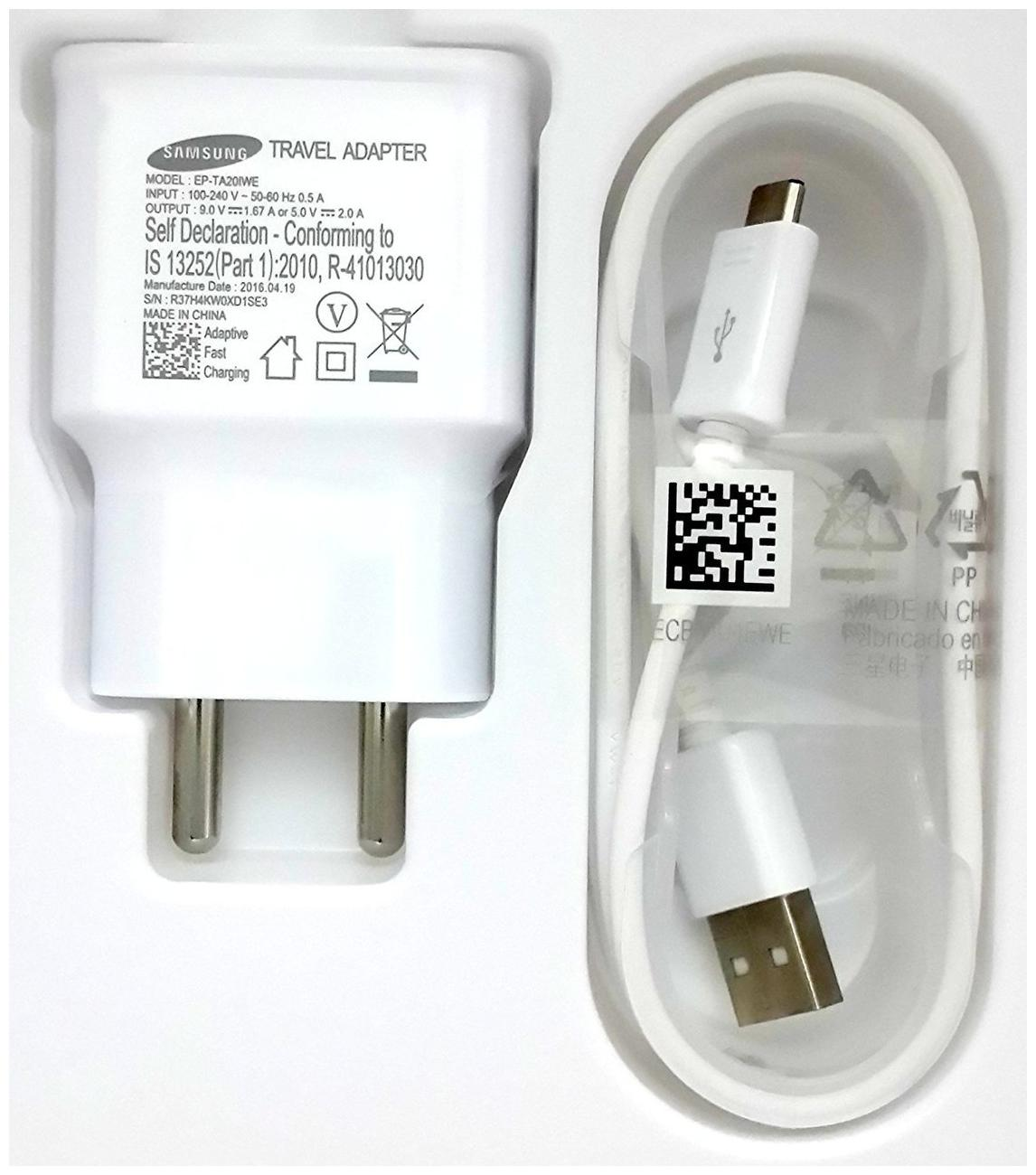 Samsung EP TA20 Wall Charger  White  by Plus Kart SLP