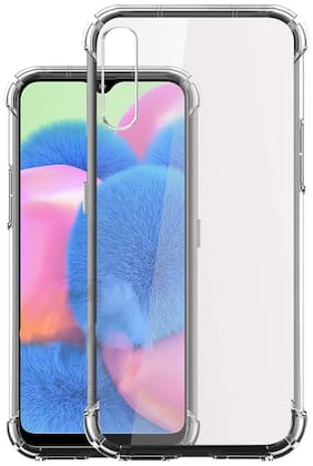 Samsung Galaxy A50s - HD Clear Bumper Shockproof Corner Back Cover Transparent(Air Cushion Technology)