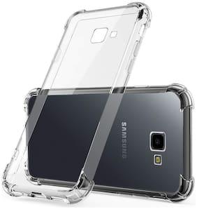 Samsung Galaxy J4 Plus/J4+ 12D Best Quality Shock Proof Protective Anti Shock, Soft Transparent Back Case Cover