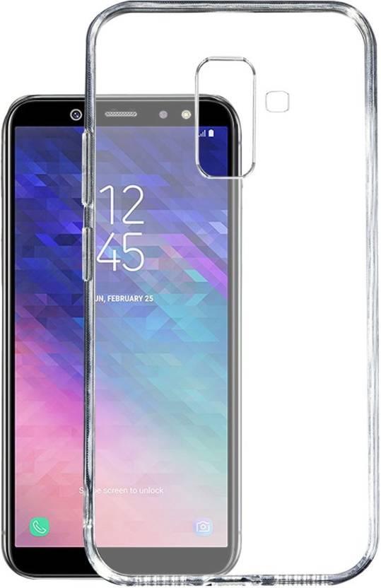 buy popular 2890d b694b Samsung Galaxy J8 Soft Case Back Cover In Transparent