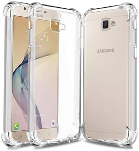BIG CAT TPU Back Cover For Samsung Galaxy J7 Prime ( Transparent )