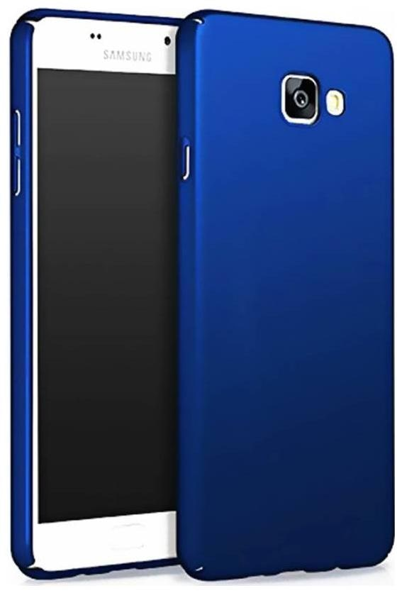 CREATIVO Plastic Back Cover For Samsung Galaxy J7 Max   Blue   by Candys Cart