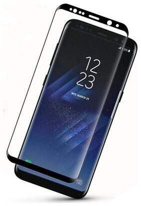 TEMPERED GLASSES Edge To Edge Tempered Glass For Samsung Galaxy S8