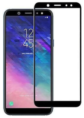 Samsung Galaxy A6 Plus 2018 Screen Guard By Tempered Glasses 3D Tempered Glass, Bubble Free Installation