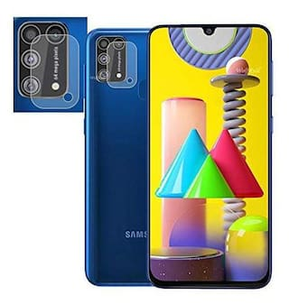 Samsung Galaxy M31 Anti Scratch Back Camera Lens Protector Flexible Soft Tempered Glass for Samsung Galaxy M 31