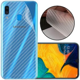 Samsung Galaxy A30 Transparent 3D Mobile Skin for Back