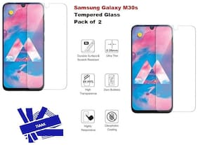Samsung Galaxy M30s Tempered Glass (Pack of 2)