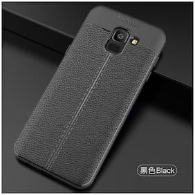 shopyholik Back Cover For Samsung Galaxy J6 ( Black )