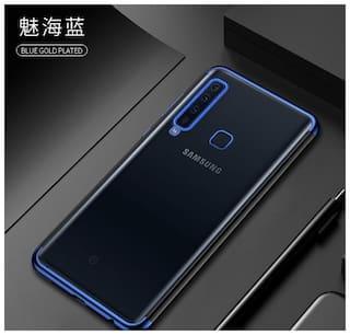 half off 8569f 37771 Samsung galaxy A9 2018 case electroblue back cover