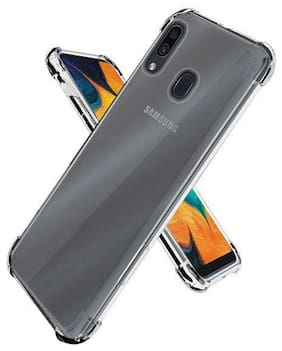 OFFERSONLY Polyurethane Back Cover For Samsung Galaxy M10S ( Transparent )