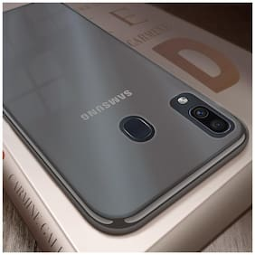 Samsung Galaxy M10s Ultra Thin Transparent Back Cover
