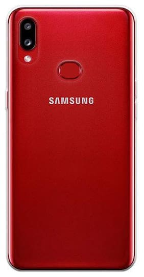 Samsung Galaxy A10S Back Case Transparent Cover