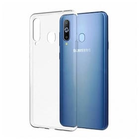Samsung Galaxy M30 Silicone Back Cover By RM Style ( Transparent )