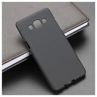 Samsung Galaxy J5 Prime Soft Silicone High Quality Dust Proof Anti Slip Back Case Cover Black
