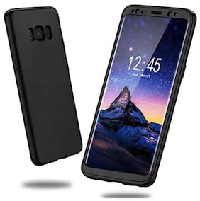 samsung galaxy S8 plus 360 degree back cover with tempered glass (ipaky style)