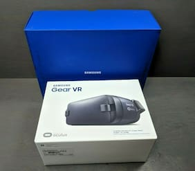 Samsung Gear Virtual Reality Goggles Oculus smr323nbkaxar