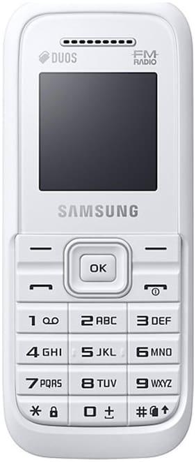 Samsung Guru Fm Plus B110E (White)