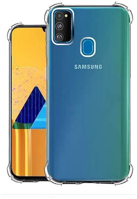 Ultimate Collection Silicone Back Cover For Samsung Galaxy M30s ( Transparent )