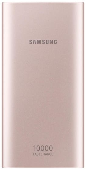 Samsung EB-P1100BPNGIN 10000 mAh Portable Fast Charging Power Bank - Pink