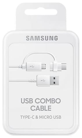 Samsung Usb c type cable - 0.1 mtr , White