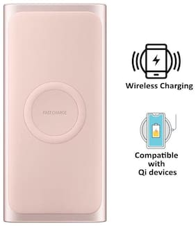 Samsung 10000 mAh Wireless Power Bank - Pink