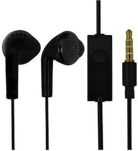 SAMUJA Original EHS61ASFWE 3.5mm Jack In-Ear Wired Headphone ( Black )