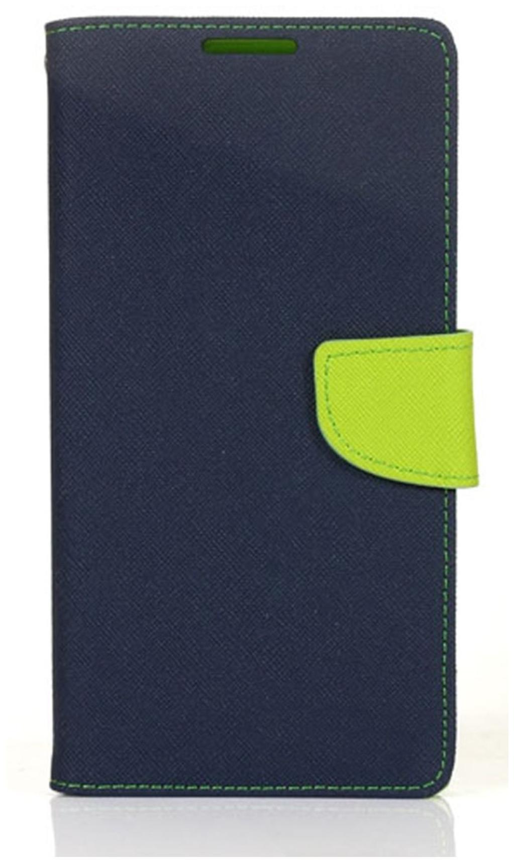 SCHOFIC Wallet Diary Flip Cover for VIVO Y31 / Y31L   NAVY BLUE by Schofic