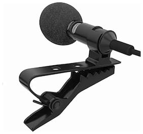 SCORIA Electronic 3.5mm Clip-on Mini Lapel Lavalier Microphone for Android/iOS Device