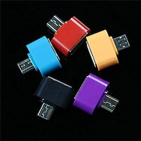 SCORIA Micro USB DIERECT OTG Adapter For Smartphones (Assorted Color)