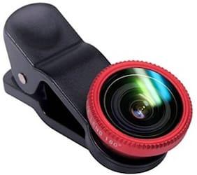 SCORIA New Clip Lens 3 in 1 Phone Lens Kit 180 Degree Fisheye + 065x Supreme Mobile Phone Lens  (Fisheye) (COLOR MAY VARY)