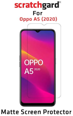 Scratchgard Anti Glare PET Film Screen Protector for Oppo A5 2020