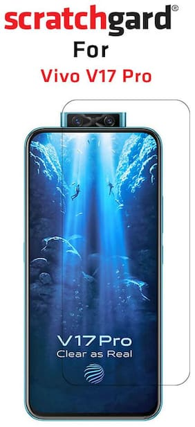 Scratchgard Ultra Clear PET Film Screen Protector for Vivo V17 Pro
