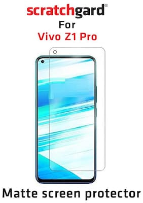 Scratchgard Anti Glare PET Film Screen Protector for Vivo Z1 Pro