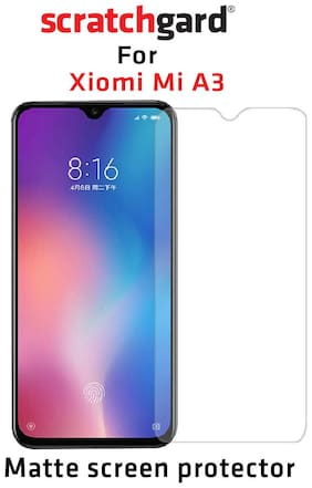 Scratchgard Anti Glare PET Film Screen Protector for Xiaomi Mi A3