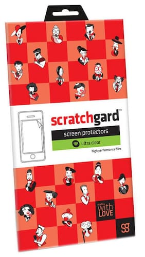 Scratchgard Ultra Clear Screen Protector Screen Guard for LG Stylus 3 (M400DK)