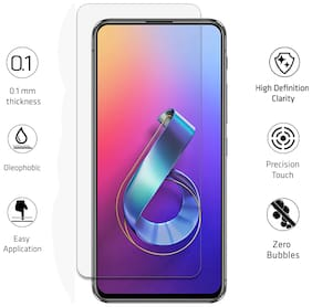 Scratchgard Ultra Clear PET Film Screen Protector for Asus Zenfone 6z ZS630KL