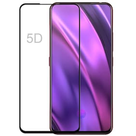 Screen Guard for Vivo V15 Pro Tempered Glass 6D 9H Hardness, Anti Scratch Free Anti Finger Print Tempered Glass for (V15 Pro, Pack of 1)
