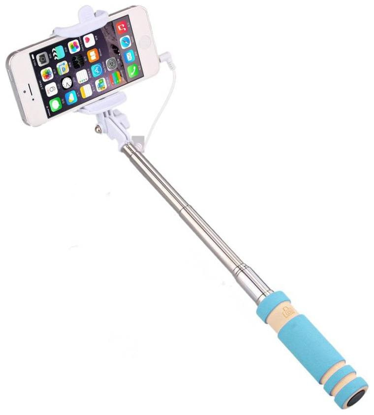 Selfie Stick, Battery Free] Wired Handheld Monopod for iPhone SE/6s/6/6 Plus, Samsung...