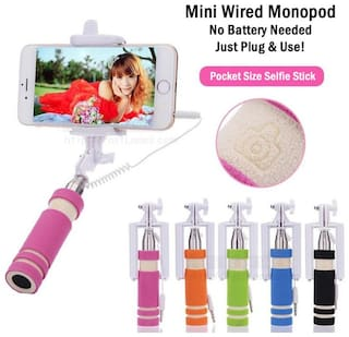 Selfie Stick with aux cable for all Android phones