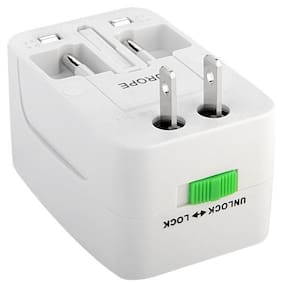 SellnShip Multi Pin Charger For All Smartphone (White)