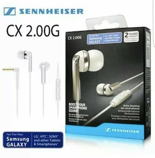 Sennheiser CX 2.00G In-Ear Canal Headset - White