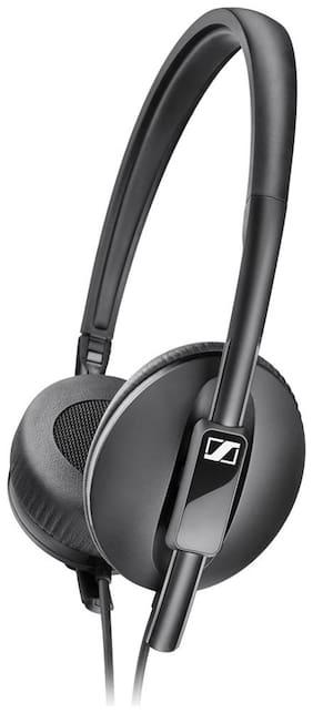 Sennheiser HD 2.10 On-Ear Wired Headphone ( Black )