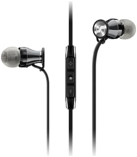 Sennheiser Momentum M2 IEI In-Ear Wired Headphone ( Black )