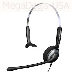 Sennheiser SH 230 Wired Monaural Headset - Black/Gray - (JE)