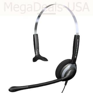 Sennheiser SH 230 Wired Monaural Headset - Black/Gray - (JE)
