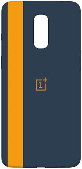 SharpEseller Silicone Back Cover For OnePlus 6T ( Multi )