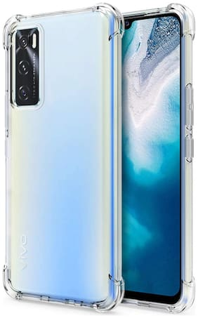 Vivo V20 SE Silicone Back Cover By SHINING ZON ( Transparent )