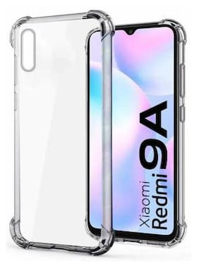 SHINING ZON Silicone Back Cover For Redmi 9i ( Transparent )